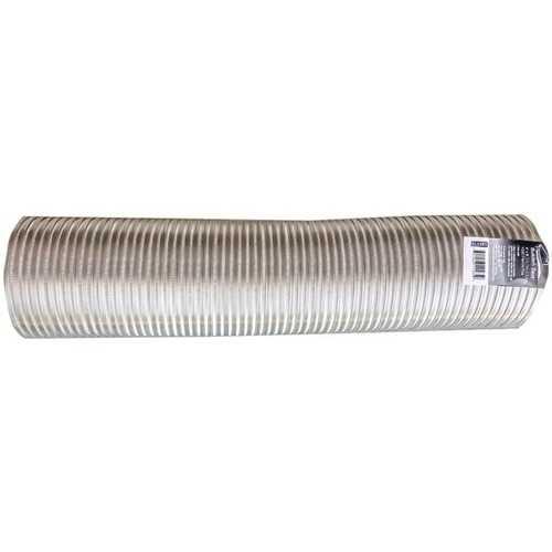 """Builder's Best 111586 Semi-Rigid Aluminum Duct, 8ft (6"""" dia)"""