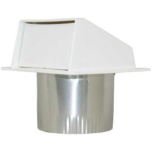 "Builder's Best 111804 PEV802 4"" Under-Eave Exhaust Vent"