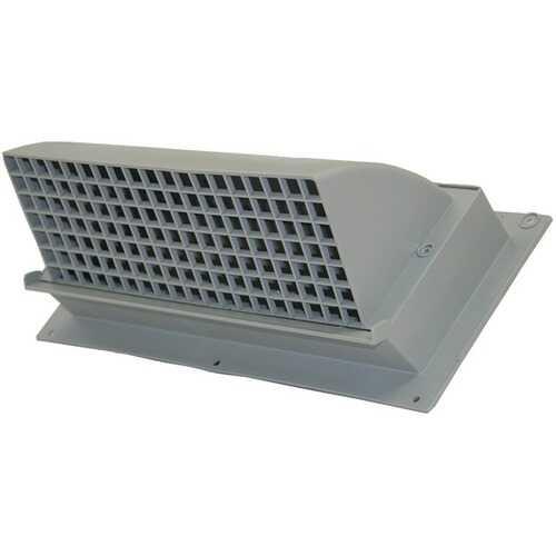 Builder's Best 111872 Nemco WC310 Heavy-Duty Plastic Range Hood Vent (Gray)