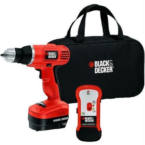 BLACK+DECKER(TM) GCO12SFB 12-Volt Drill/Driver with Stud Sensor Kit