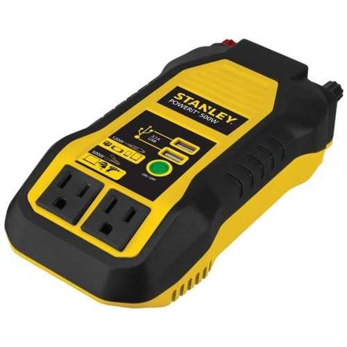 STANLEY PI500S PowerIt 500-Watt Power Inverter