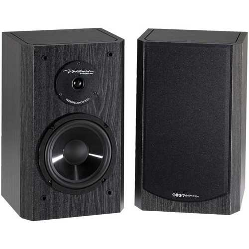 BIC America DV62SIB 175-Watt 2-Way 6.5-Inch Bookshelf and Surround Speakers