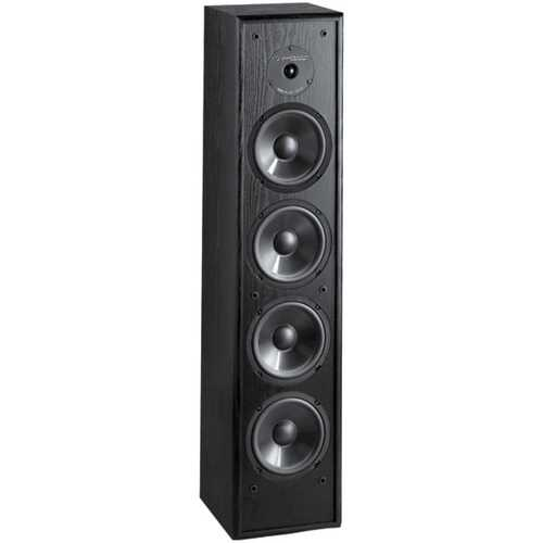 BIC America DV 84 250-Watt 2-Way 8-Inch Slim-Design Tower Speaker for Home Theater and Music