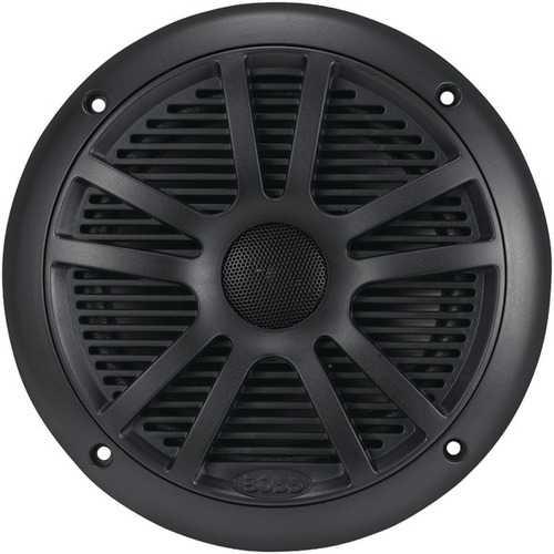 "BOSS Audio Systems MR6B 6.5"" Dual-Cone Marine Speakers (Black)"
