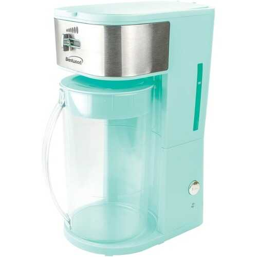 Brentwood Appliances KT-2150BL Iced Tea and Coffee Maker (Blue)