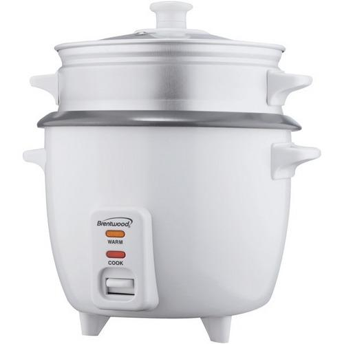 Brentwood Appliances TS-480S Rice Cooker with Food Steamer (15 Cups, 900 Watts)