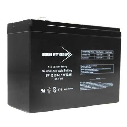 Bright Way Group BW 12100 F2 (0186) BWG 12100-S F2 Sealed Lead Acid Battery
