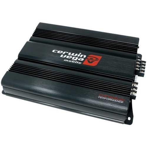 Cerwin-Vega Mobile CVP1200.4D Performance Series 1,200-Watt-Max 4-Channel Class D Amp