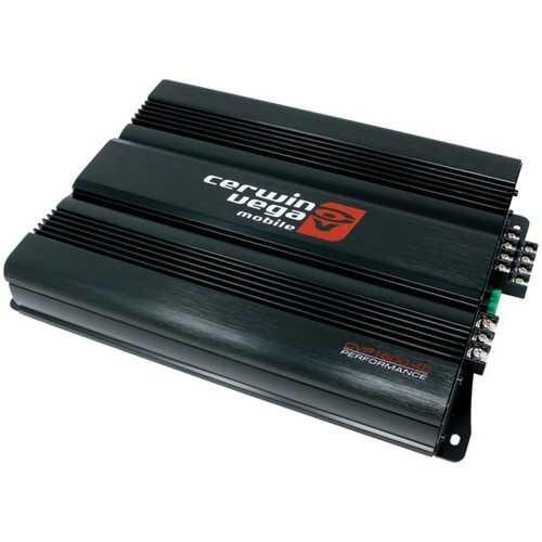 Cerwin-Vega Mobile CVP1600.4D Performance Series 1,600-Watt-Max 4-Channel Class D Amp