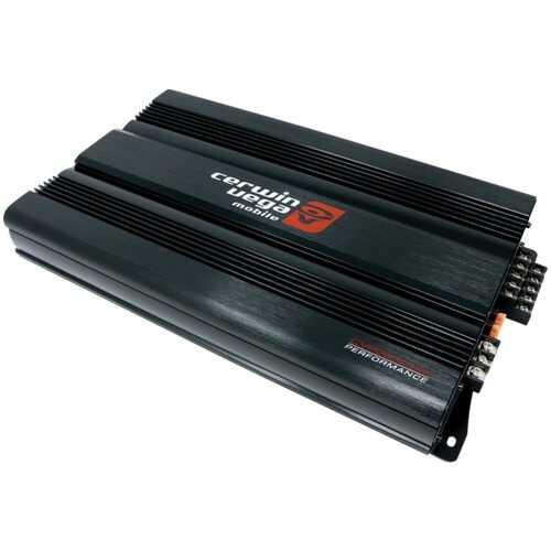 Cerwin-Vega Mobile CVP2500.5D Performance Series 2,500-Watt-Max 5-Channel Class D Amp