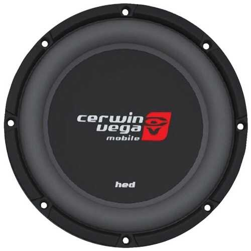 "Cerwin-Vega Mobile HS122D HED Series DVC Shallow Subwoofer (12"", 2ohm )"