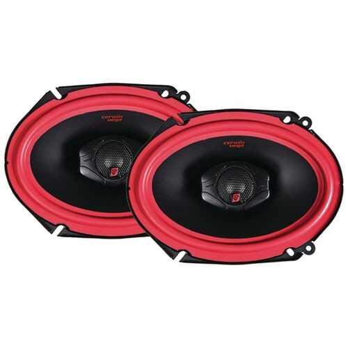 "Cerwin-Vega Mobile V468 Vega Series 2-Way Coaxial Speakers (6"" x 8"", 400 Watts max)"