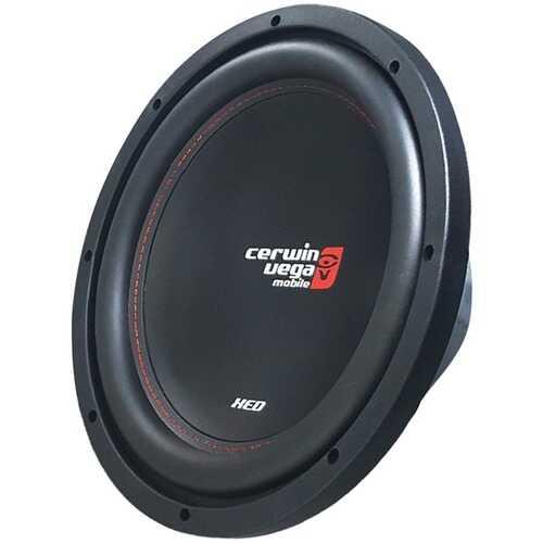 """Cerwin-Vega Mobile XED12V2 XED Series SVC 4ohm 12"""" 1,000-Watt Shallow Subwoofer"""