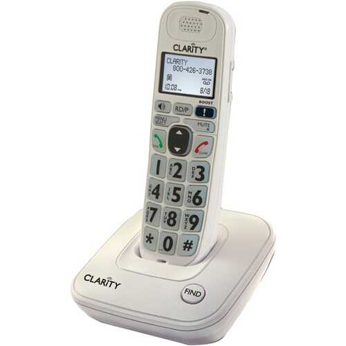 Clarity 53702.000 DECT 6.0 D702 Amplified Cordless Phone (Single-Handset System)