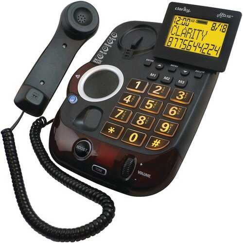 Clarity 54505.001 AltoPlus Amplified Corded Phone with Caller ID