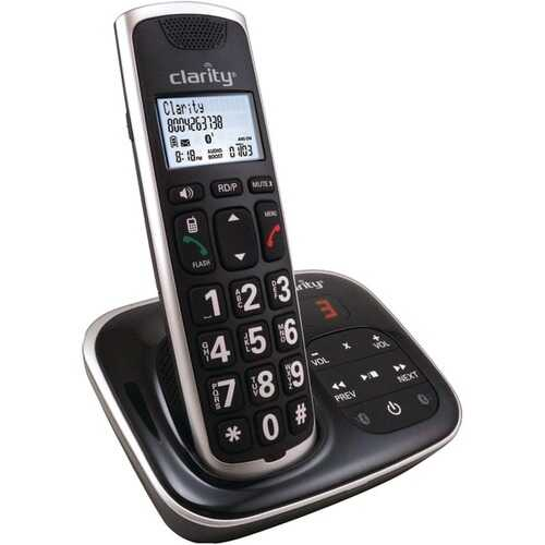 Clarity 59914.001 DECT 6.0 BT914 Amplified Bluetooth Cordless Phone with Answering Machine