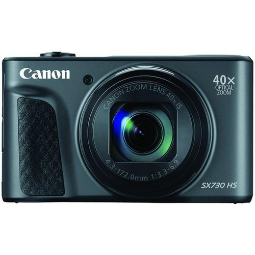 Canon 1791C001 20.3-Megapixel PowerShot SX730 Digital Camera (Black)