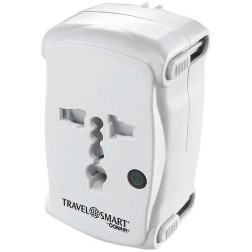 Conair TS237AP All-In-One Adapter Plug