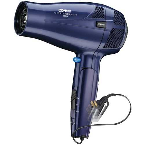 Conair 289N 1,875-Watt Cord-Keeper Folding Dryer