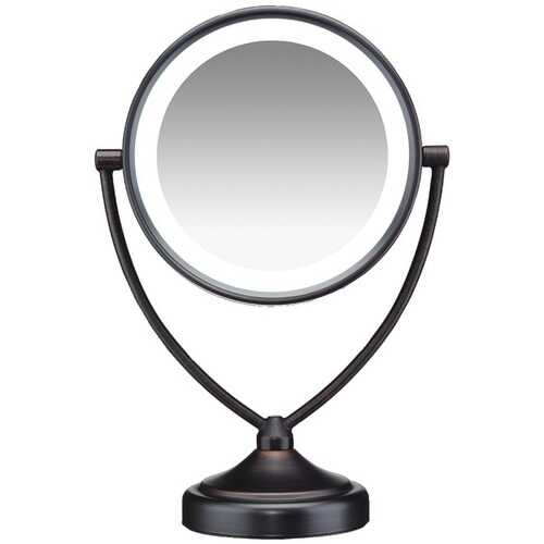 Conair(R) BE122BRAM Illuminations 1x/10x Fluorescent Vanity Mirror