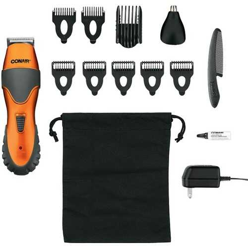Conair GMT265CS Stubble Trim 14-Piece Grooming System