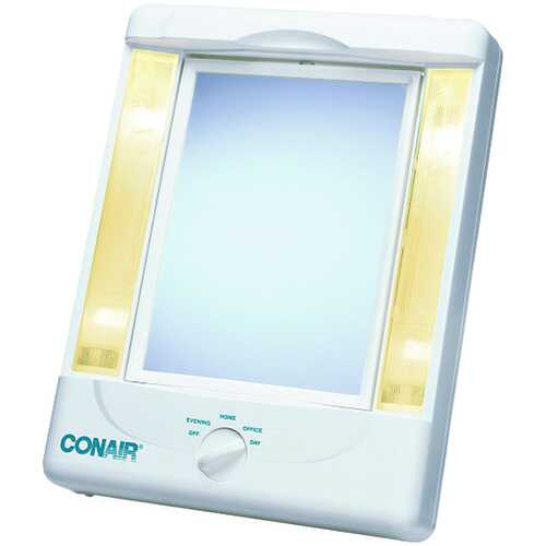 Conair TM8LX3 2-Sided Makeup Mirror with 4 Light Settings