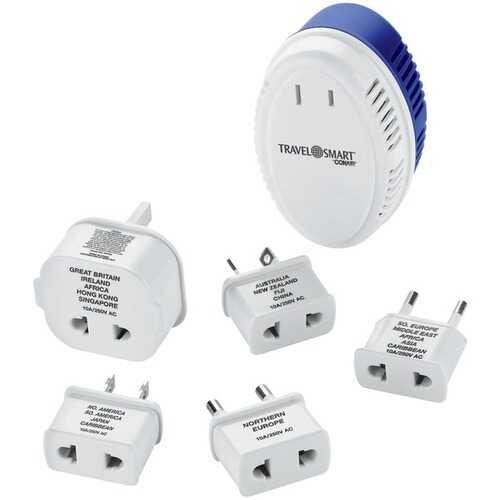 Travel Smart TS702X 1,875-Watt Converter with 5 Insulated Adapter Plugs
