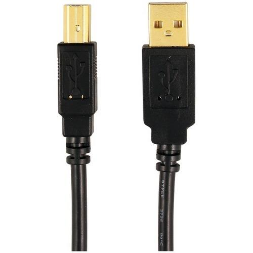 Axis(TM) 12-0080 (MP-007/PT/BL A-Male to B-Male USB 2.0 Cable (6ft)
