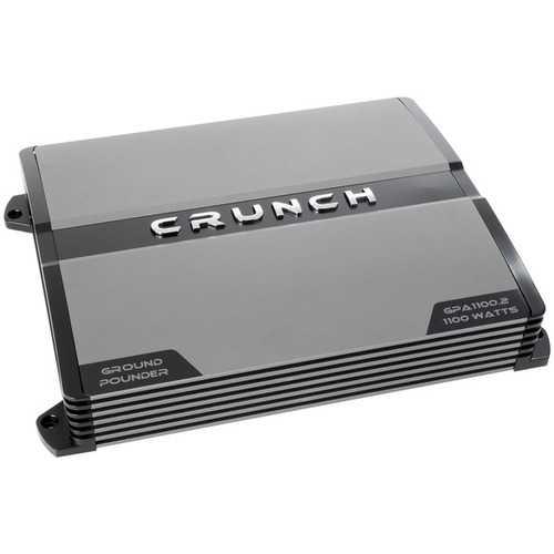 Crunch(R) GPA1100.2R Refurbished Ground Pounder 1,100-Watt 2-Channel Class AB Amp