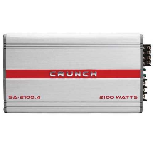 Crunch SA-2100.4 Smash Series 2,100-Watt 4-Channel Class AB Amp