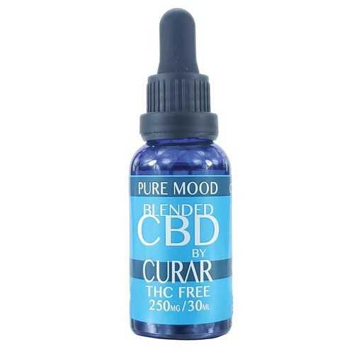 Curar CDB250M Pure Mood CBD Blend Drops