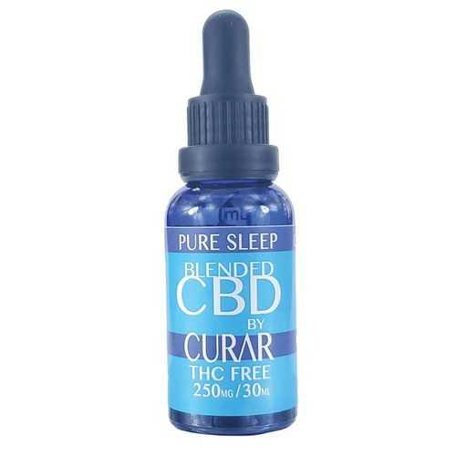 Curar CDB250S Pure Sleep CBD Blend Drops