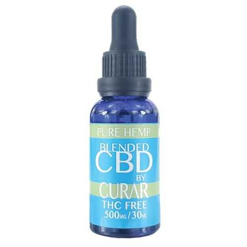 Curar CDB500H Pure Hemp CBD Blend Drops