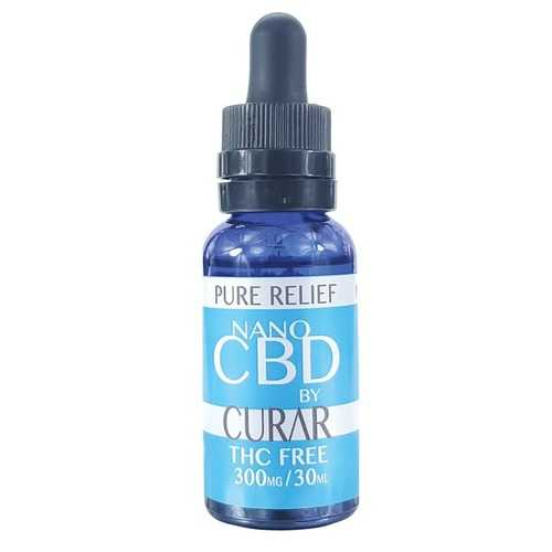 Curar CDN300R Pure Relief Nano CBD Drops