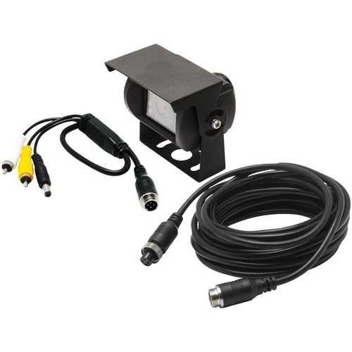 CrimeStopper(TM) COM-CAM1 COM-CAM 1 Commercial Camera with 4-Pin & RCA Connectors
