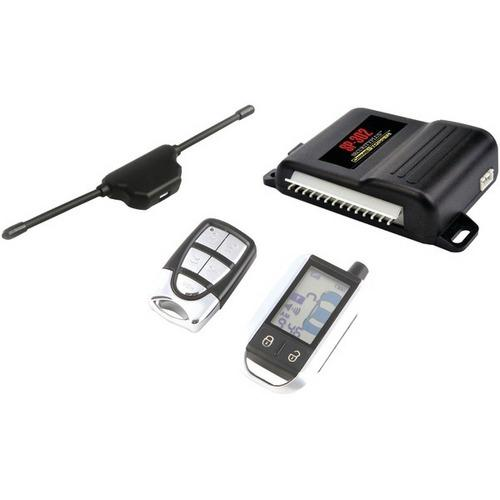 CrimeStopper SP-302 Universal 2-Way LCD Security & Keyless Entry System