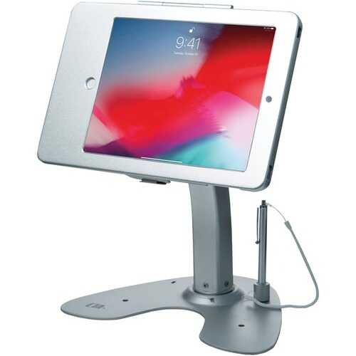 CTA Digital PAD-ASK Antitheft Security Kiosk Stand with Locking Case & Cable for iPad Gen. 5 (2017), iPad Gen. 6 (2018), iPad Air & iPad Pro 9.7