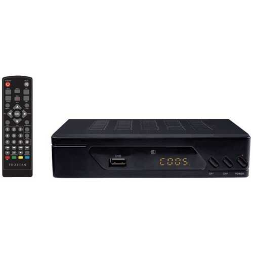 Proscan PAT102-B Digital TV Converter Box