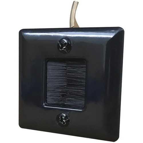 DataComm Electronics 45-0006-BK Hole Saw Plate (Black)