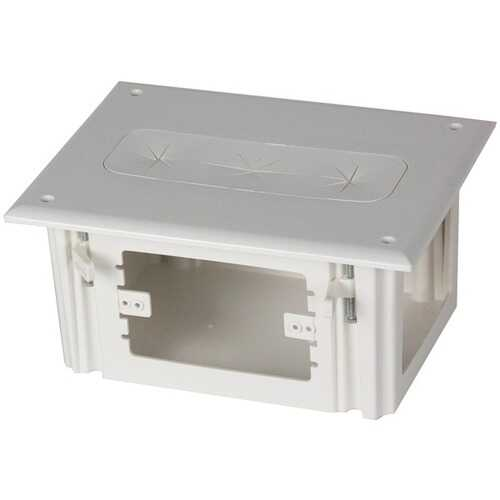 DataComm Electronics 45-0010-WH Recessed Media Box