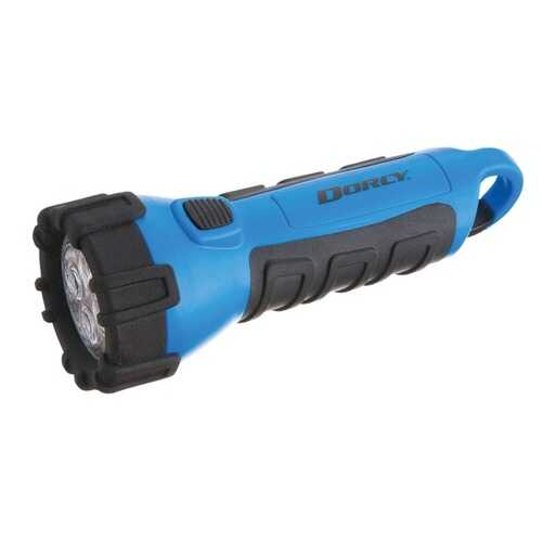 Dorcy 41-2514 55-Lumen Floating Flashlight (Blue)
