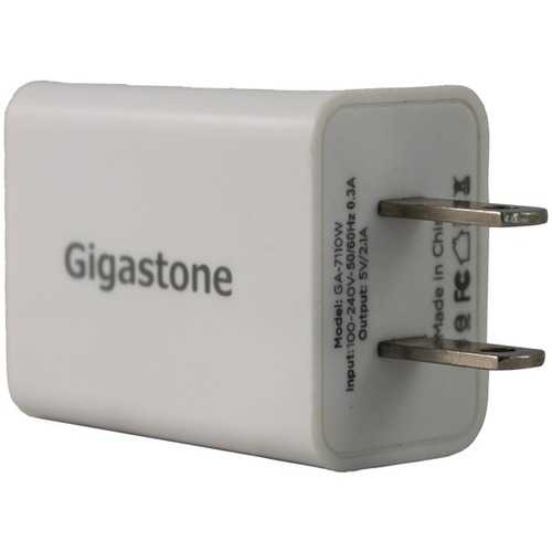 Gigastone GS-GA-7111W-R 3-in-1 Wall Charger with Charging Cables