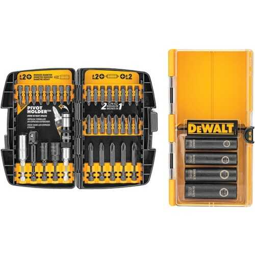 DEWALT(R) DW2169 38-Piece Impact Driver Accessory Set