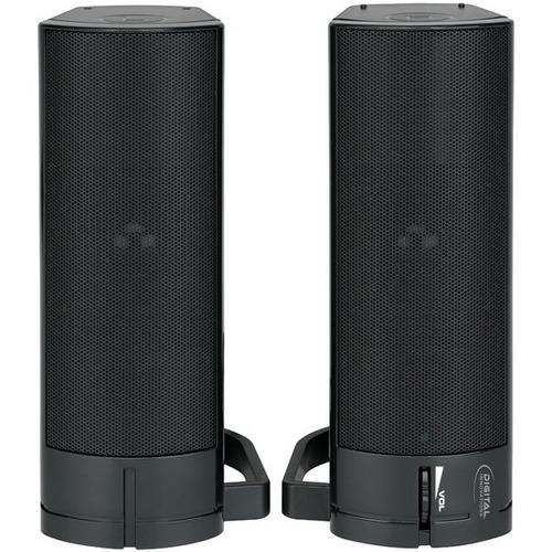 Digital Innovations 4330200 AcoustiX(TM) Speaker System 2.0 USB Desktop/Soundbar