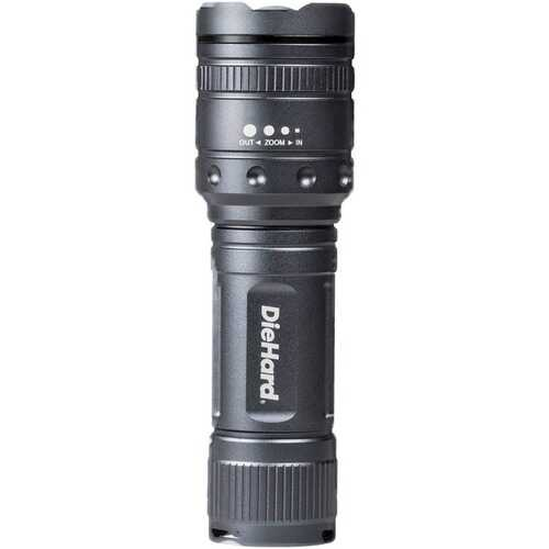 DieHard 41-6122 Twist Focus Flashlight (1,000-Lumen)