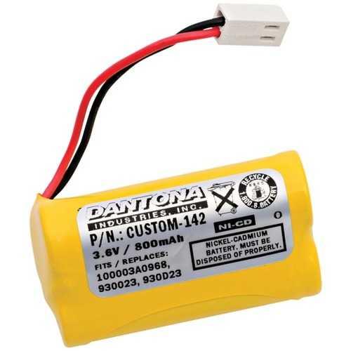 Dantona CUSTOM-142 CUSTOM-142 Rechargeable Replacement Battery