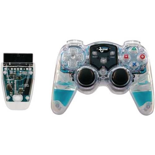 dreamGEAR DGPN-524 Lava Glow Wireless Controller for PlayStation2