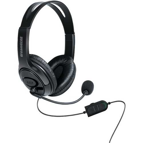 dreamGEAR DGXB1-6617 Wired Headset with Microphone for Xbox One (Black)