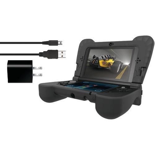 dreamGEAR DG3DSXL-2273 Nintendo 3DS XL Power Play Kit (Black)