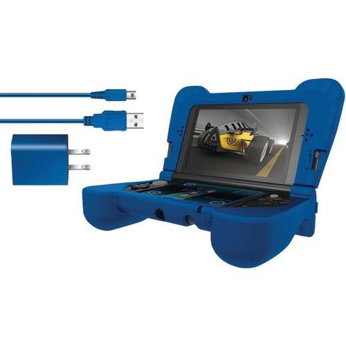 dreamGEAR DG3DSXL-2274 Nintendo 3DS XL Power Play Kit (Blue)